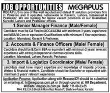 MEGAPLUS Group Jobs 2020 For Management Staff
