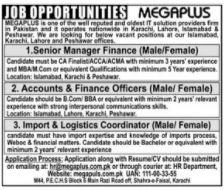 MEGAPLUS Group Jobs 2020