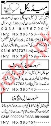 Resident Medical Officer & Lady Doctor Jobs 2020 in Peshawar