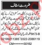 Nawaiwaqt Sunday Classified Ads 15 Nov 2020 Office Staff