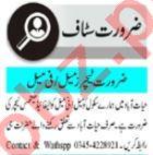 Teacher & Lady Teacher Jobs 2020 in Peshawar
