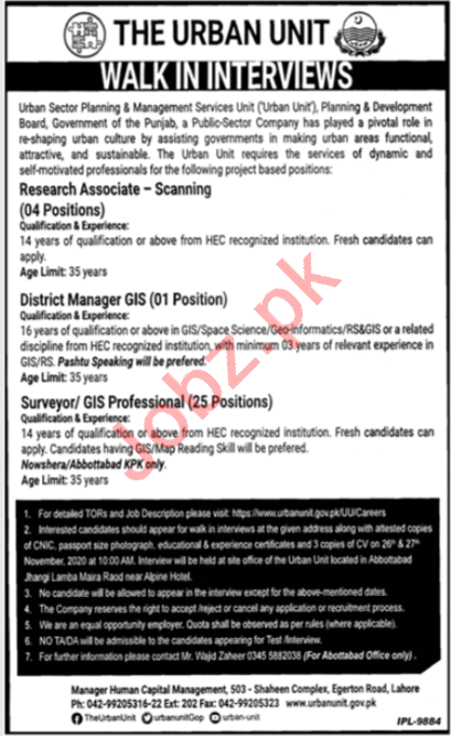 District Manager GIS & Research Associate Jobs 2020