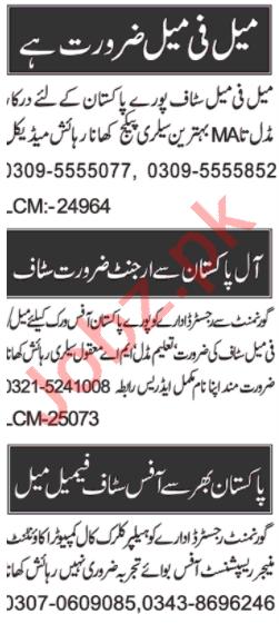 Data Entry Operator & Admin Manager Jobs 2020 in Multan