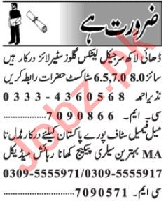 Data Entry Operator & Admin Manager Jobs 2020 in Lahore