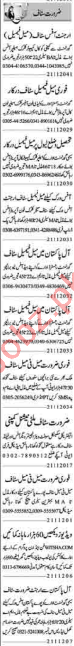 Administrator & Computer Operator Jobs 2020 in Lahore