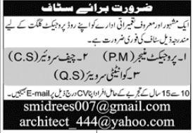Construction Staff Jobs 2020 in Gilgit Baltistan