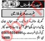Khabrain Sunday Classified Ads 22 Nov 2020 for House Staff
