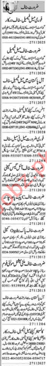 Quantity Surveyor & Office Assistant Jobs 2020 in Lahore