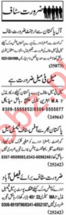 Assistant Account Manager & Garments Manager Jobs 2020