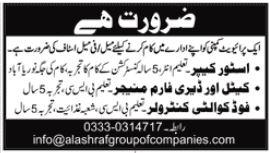 Al Ashraf Group of Companies Jobs 2020 in Karachi