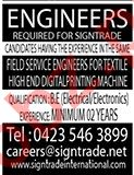 Signtrade Lahore Jobs 2020 for Engineer