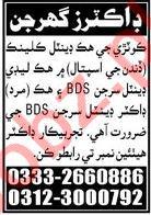 Male & Female Dental Surgeon Jobs 2020 in Hyderabad