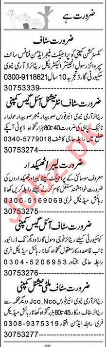 Project Engineer & Assistant Supervisor Jobs 2020