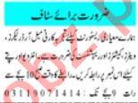 Female Order Booker & Cashier Jobs 2020 in Peshawar