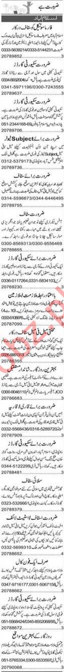 Field Officer & Public Dealing Expert Jobs 2020 in Islamabad