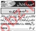 Models & Actors Jobs 2020 in Lahore