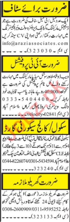 Software Engineer & Web Developer Jobs 2020 in Islamabad