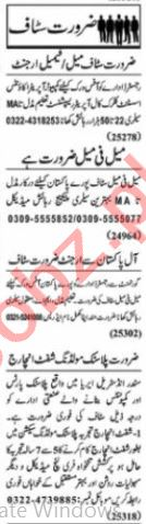 HR Office & Account Manager Jobs 2021 in Lahore
