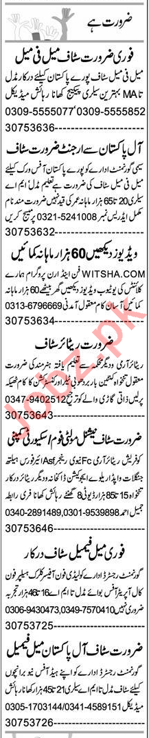 Computer Operator & Telephone Operator Jobs 2021