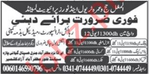 House Keeper & Fish Cutter Jobs 2020 in Dubai
