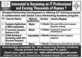 Shirakat NGO Jobs 2020 For Management Staff in Islamabad