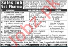 Atzan Pharmaceuticals Jobs 2020 for Marketing Manager