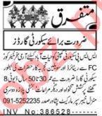 Security Foreman & Security Executive Jobs 2021 in Peshawar