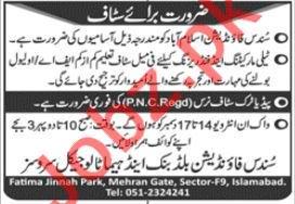 Sundas Foundation Islamabad Telemarketing Jobs 2020