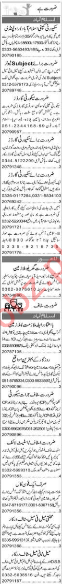 Account Manager & Finance Manager Jobs 2021 in Islamabad