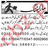 Sales Officer & Marketing Manager Jobs 2021 in Peshawar