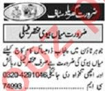 Khabrain Sunday Classified Ads 20 Dec 2020 for House Staff
