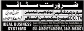 Ideal Business Systems Jobs 2020 in Islamabad