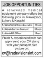 Medical Equipment Company Jobs 2021
