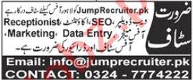 Jump Recruiter Lahore Jobs 2021 for Web Developer & SEO