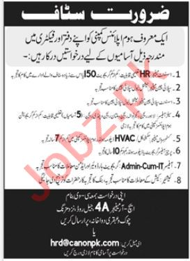 Assistant Manager HR & Supply Chain Manager Jobs 2021