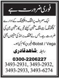 Machine Man Job 2021 in Karachi