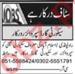 Security Guard & Security Foreman Jobs 2021 in Islamabad