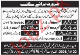 Operation Manager & Works Manager Jobs 2021 in Faisalabad