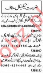 Nawaiwaqt Sunday Classified Ads 10 Jan 2021 for Technical