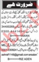 Nawaiwaqt Sunday Karachi Classified Ads 10 Jan 2021