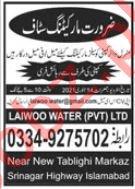 Sales Staff & Marketing Staff Jobs 2021 in Islamabad
