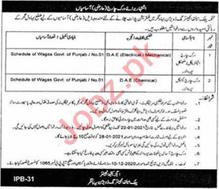 Public Health Engineering Division Bahawalnagar Jobs 2021