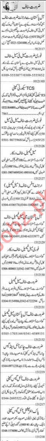 Clerk & Data Entry Operator Jobs 2021 in Islamabad