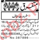 Security Admin & Chief Warrant Officer Jobs 2021 in Peshawar