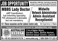 Network Administrator Admin Assistant Jobs in Lahore