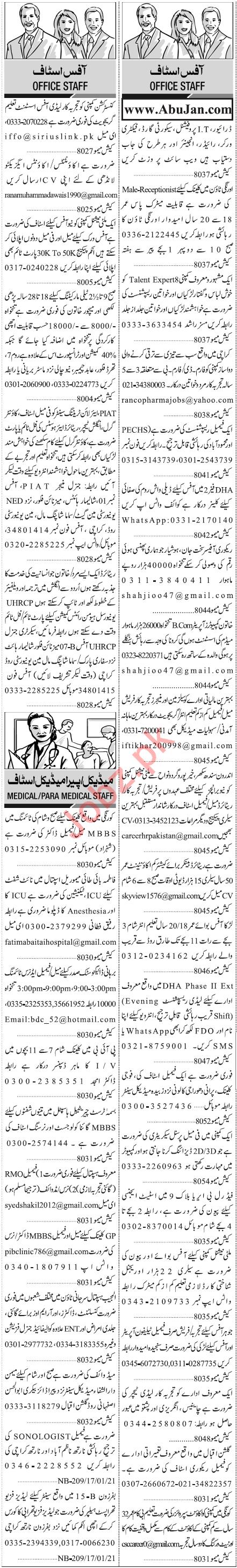 IT Professional Engineer Accountant Jobs in Karachi