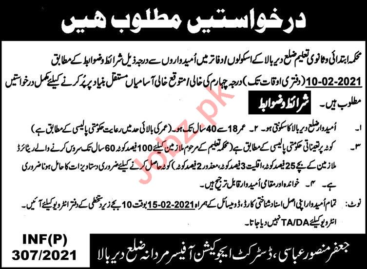 Elementary & Secondary Education Department ESED Jobs 2021