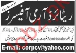 Administrator & Security Executive Jobs 2021 in Islamabad