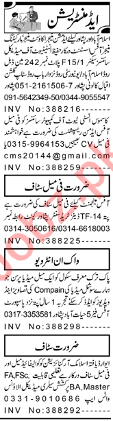 Assistant Manager & Computer Operator Jobs 2021 in KPK