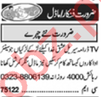 Models & Actors Jobs 2021 in Lahore